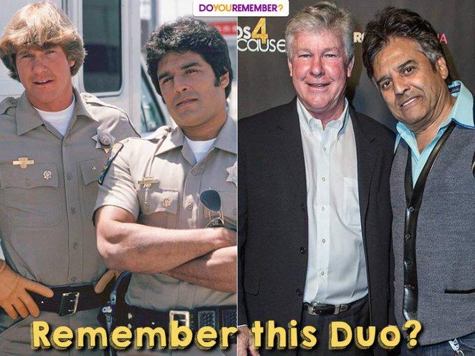 Happy 70th Birthday to Erik Estrada! Remember this duo?
