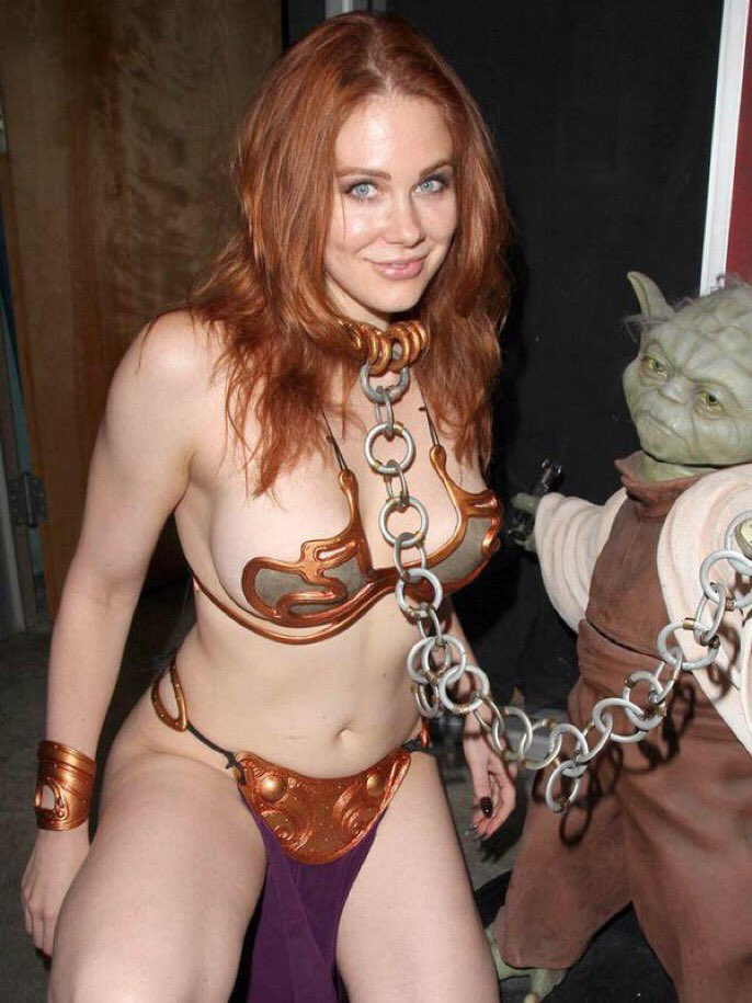 RT @MWFrand: What celebration of Maitland's cosplay is complete without Slave Leia? https://t.co/0eI4NQqKiU
