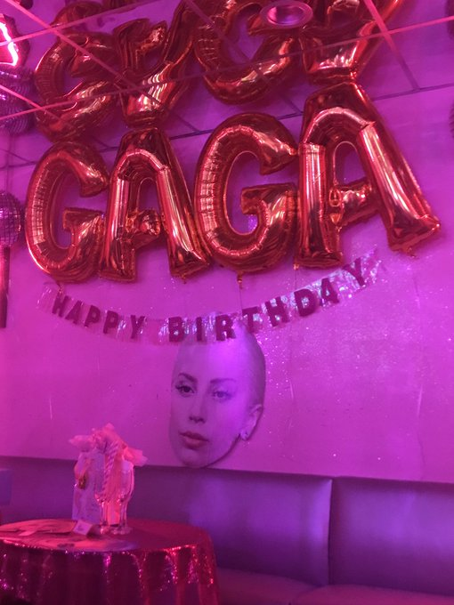 Happy Birthday Lady Gaga