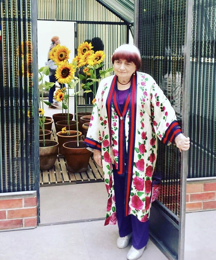 Rest In Peace Agnes Varda , genius, friend, and mentor. Fly with angels. S https://t.co/3gEsm2siSC