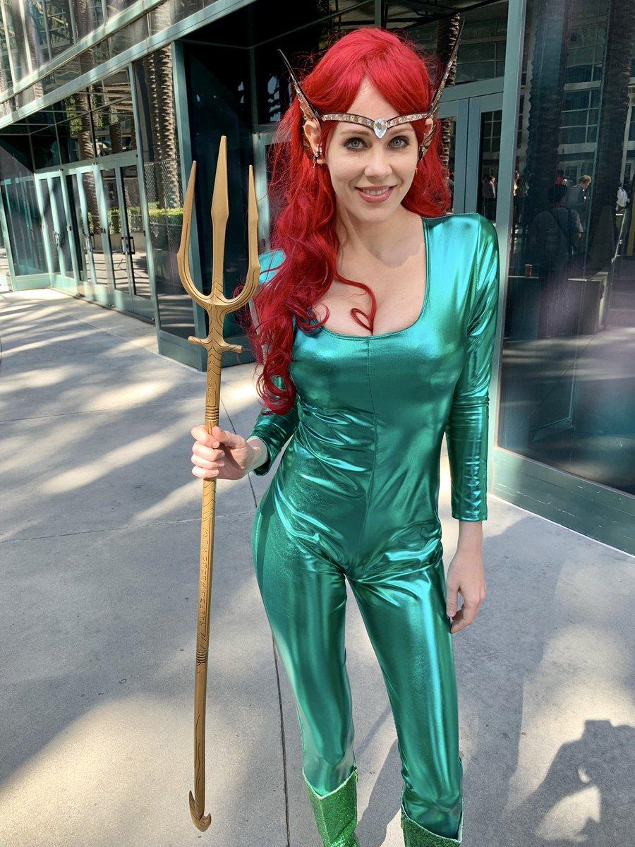 Mera! @WonderCon #Aquaman https://t.co/0mDpfMLoXb