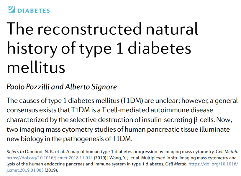 test Twitter Media - AOP News & Views: The reconstructed natural history of type 1 #diabetes mellitus (£) https://t.co/OxYvB4efg1 #T1D #T1DM https://t.co/KxIO4bh48T