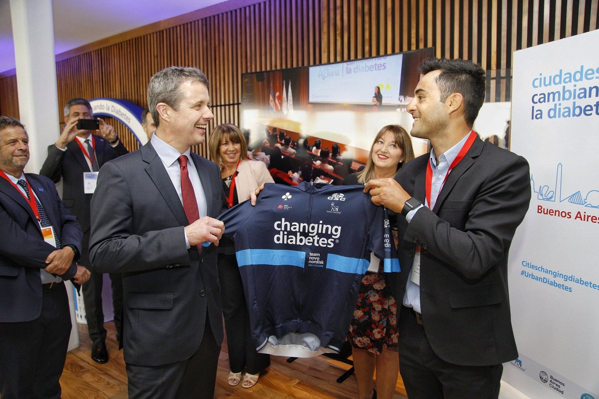test Twitter Media - Health and #diabetes awareness was on the agenda when HM the Queen of Denmark, Margrethe ll, HRH Crown Prince Frederik and Ministers were introduced to our @citiesdiabetes programme, @teamnovonordisk and other initiatives in Buenos Aires 🇦🇷Thanks for the visit! #ChangingDiabetes https://t.co/5yj9NSTiDZ