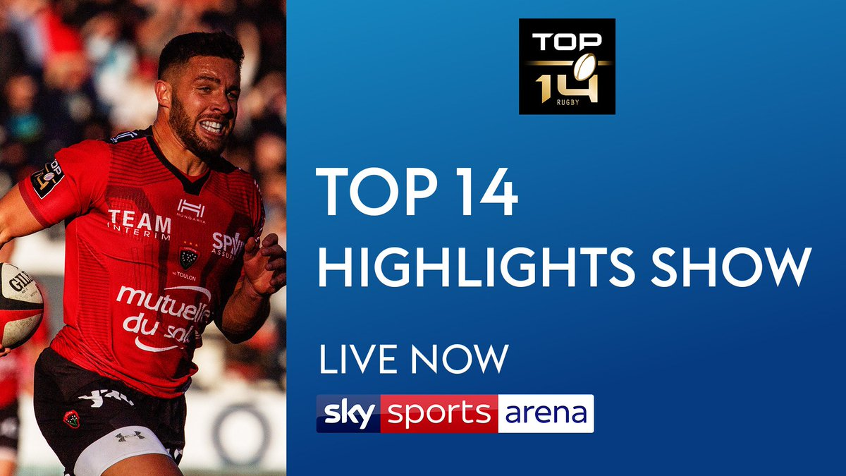 test Twitter Media - 🚨 Did you miss any of the weekend's @top14rugby action? Catch up on highlights of all seven games now on @SkySports Arena.  #Top14 https://t.co/7sQ6h2WLEZ