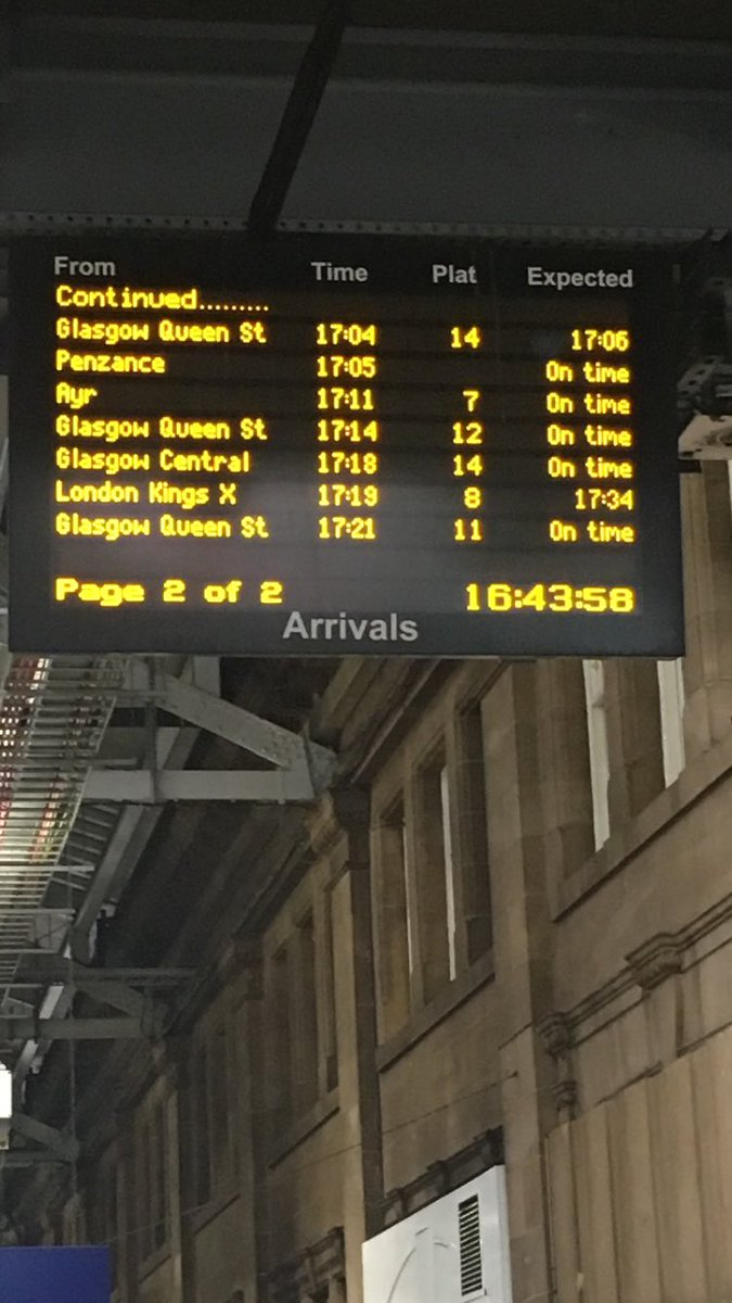 When your train home left its hole before you left your home and is still on time @CrossCountryUK https://t.co/dVhgtfbHGd
