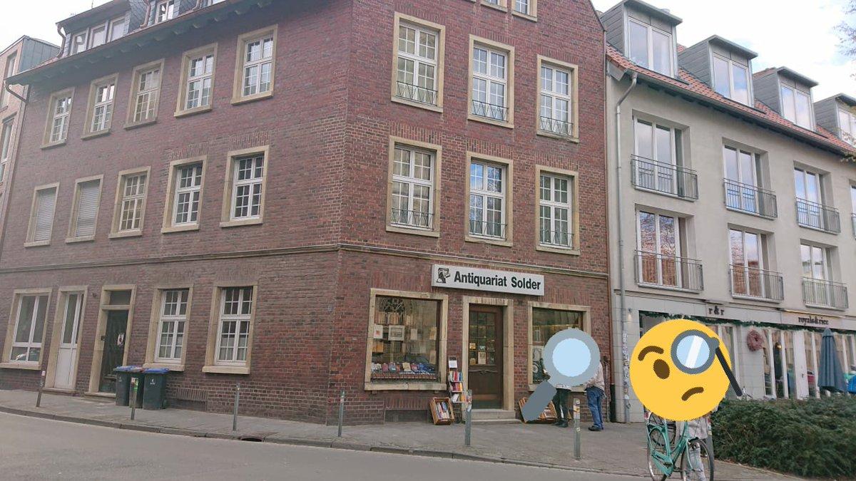 Habe heute zufällig das Antiquariat von #Wilsberg gefunden... Dat is es doch, oder? https://t.co/GcMwNKyeoL