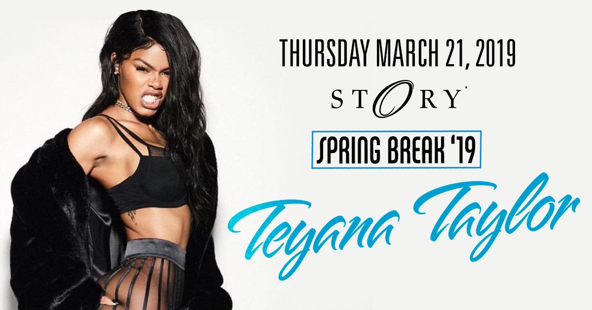 RT @STORYmiami: Work that ???? with @teyanataylor THIS THURSDAY March 21st! Tickets: https://t.co/bqKzyFdWIK https://t.co/7NbtdiISzo