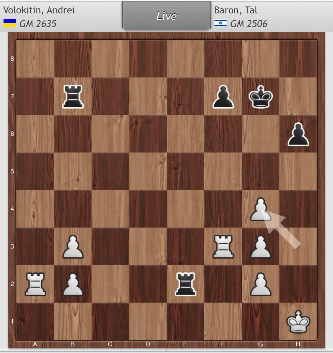 test Twitter Media - RT @CristianChirila: Materialism gone very wrong 😬   Black to move. Have at it! #EICC2019 https://t.co/sSKvoZm7nP