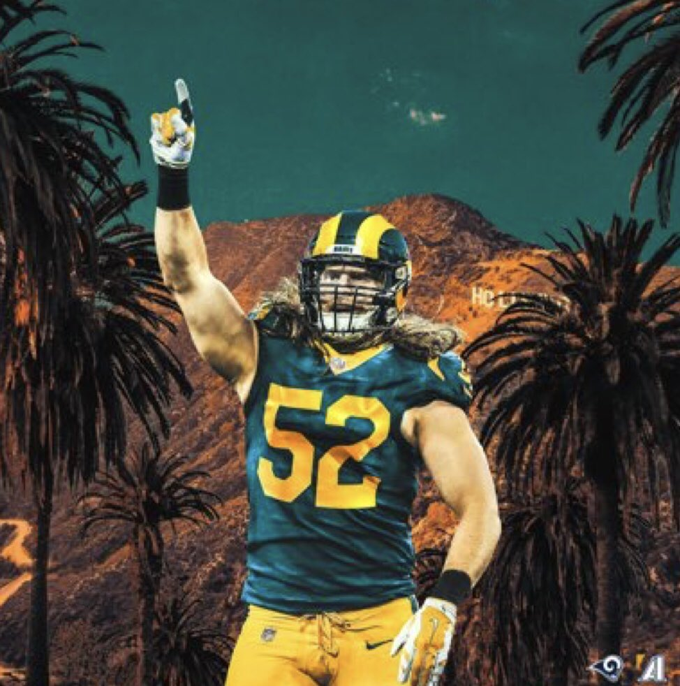 Clay Mathews hasn't played with Aaron Donald and the secondary the Rams have. This dude might ball tf out https://t.co/ANhipeuzr4