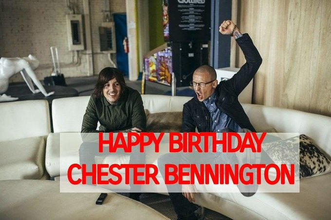 Happy birthday Chester Bennington, thanks for being reason BMTH exists \till now