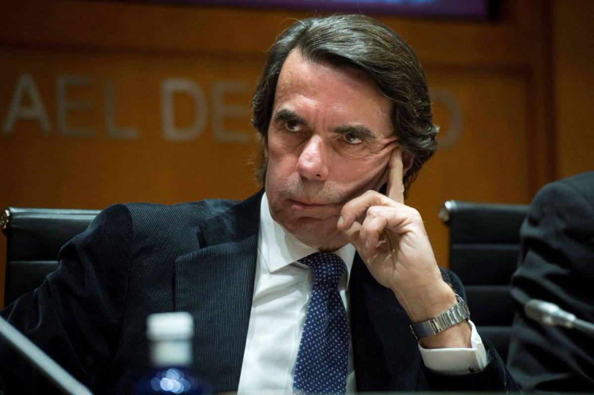 RT @La_SER: Aznar carga contra las políticas que buscan recuperar la memoria histórica https://t.co/fw3aDp6cof https://t.co/adf9zMkyfs