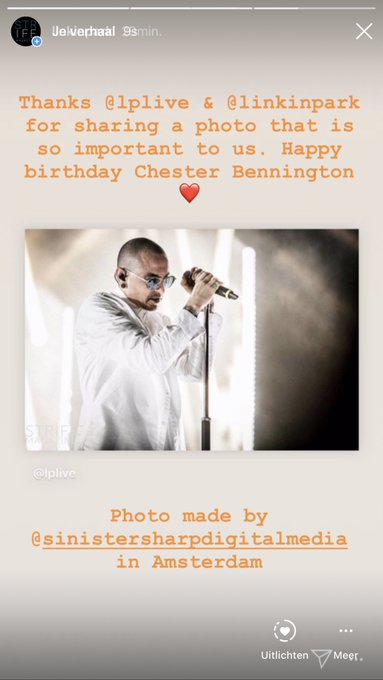Happy birthday, Chester Bennington   Thanks to and for sharing the photo we re most proud of