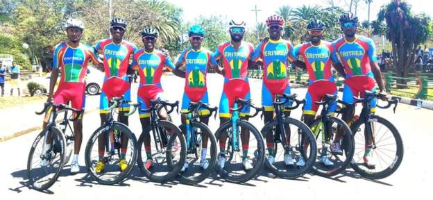 test Twitter Media - Congratulations to Mosana Debesay and Mekseb Debesay! 🚴🚴  The Eritrean sister and brother will compete at #Tokyo2020 for the first time after their stunning victories in the African Continental Road Championships: https://t.co/bRqgshBNq5 https://t.co/VchF0EEVwO