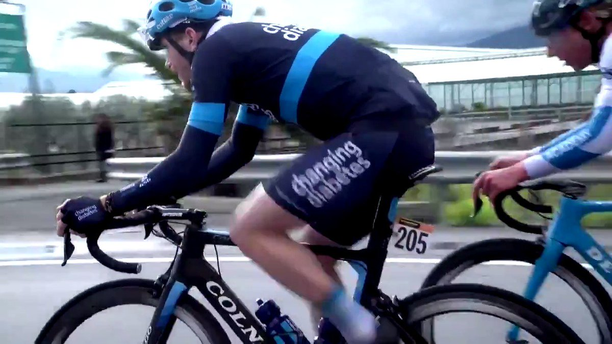 test Twitter Media - Showing the #ChangingDiabetes jersey is always the goal at @Milano_Sanremo! Take a look back at last year's race when @PlanetCharles starred in the breakaway.  Who wants to see a rider with #diabetes off the front again this year?   🇮🇹 #MilanoSanremo https://t.co/OMvtSDQENK