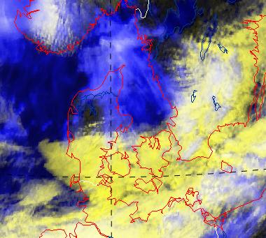 test Twitter Media - Det flotte vejr over den nordlige del af Jylland breder sig mod sydøst.  I nat står den igen på skyer, dis og stedvis tåge - men til gengæld også temperaturer et godt stykke over frysepunktet 😉 https://t.co/4YYBItHIP7