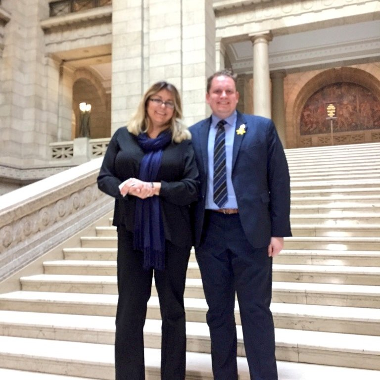 test Twitter Media - Great to have my friend Carole at the Legislative Building with Advocis, The Financial Advisors Association of Canada, who are presenting information to all members of the Legislature about changing the way financial planners are regulated. #mbpoli https://t.co/h8vz27RYG5