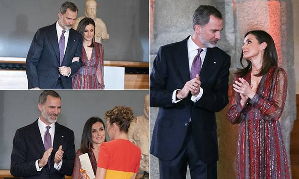 Celebrity daily edit: Letizia and Felipe at culture awards, Alex Beresford's tragic loss