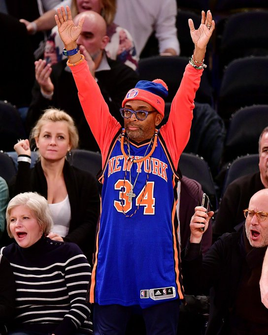 Happy birthday to legendary director and superfan Spike Lee