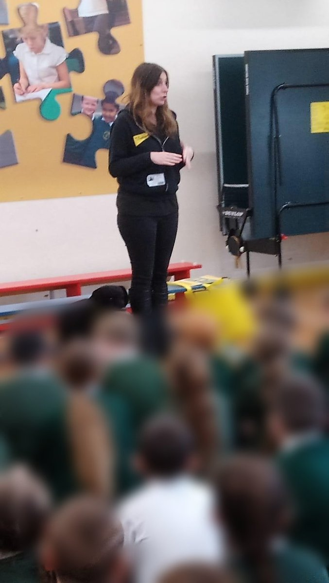 test Twitter Media - As a dog friendly school the Dogs Trust are in for 2 days doing assemblies and workshops to remind us how to behave around dogs. @DT_Educ https://t.co/0oq8utjLz8
