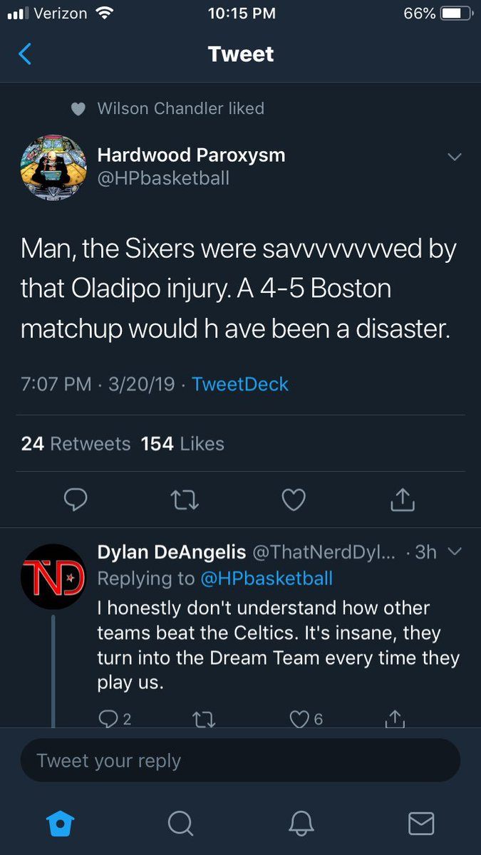 @RTRSPodcast Wilson chandler came back from the dead to like this post https://t.co/jBLmNs56fi