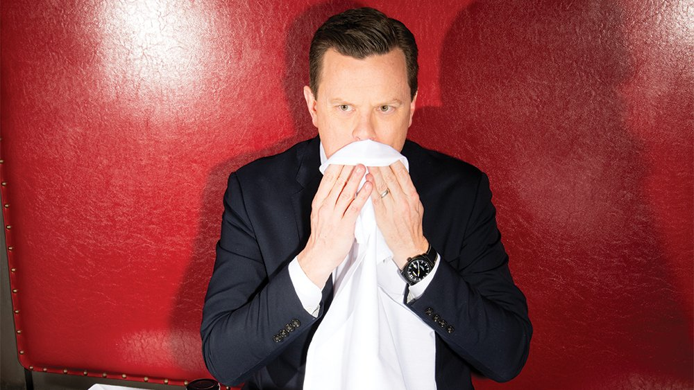 .@WillieGeist juggles morning scoops and Sunday sit-downs — and isn't letting up