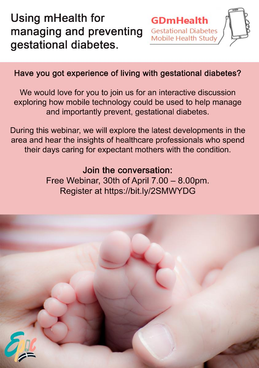 test Twitter Media - We have a webinar taking place 30.04.19 entirely dedicated to using #tech to support women with #GestationalDiabetes . Are you someone with experience of #GestationalDiabetes? Come and join us! https://t.co/rtpsE6cwKT https://t.co/RK9cL7H51i