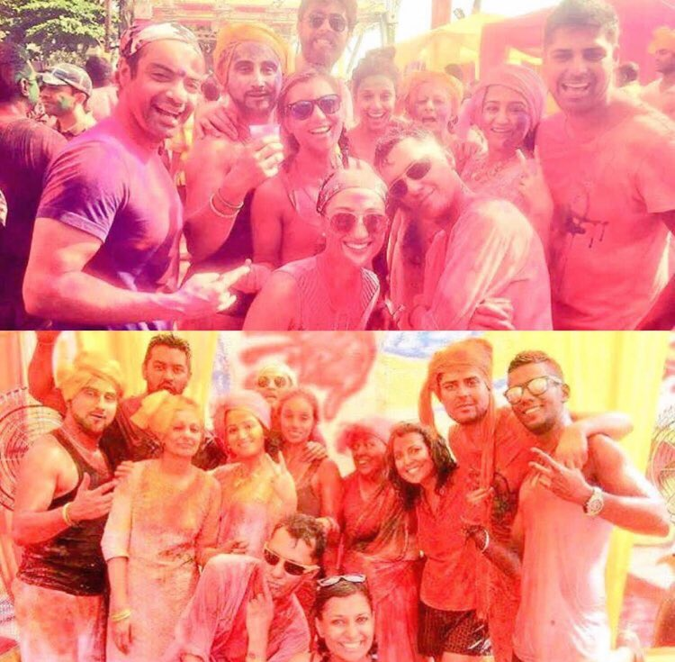 Happy Holi to everyone!  Life is always better in colour.  💛💚💙🧡❤️💜🖤 #HappyHoli https://t.co/1jGS9ekDQe