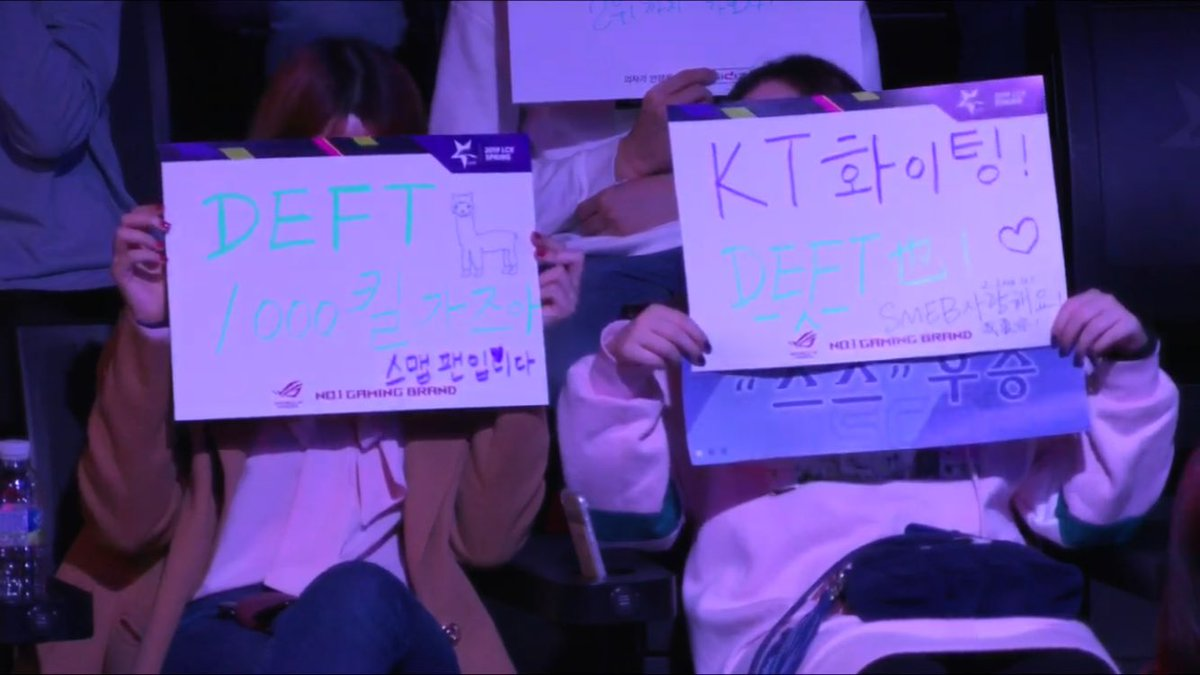 RT @giftshinku: Congrats Deft in advance for 1000 kills by Smeb fan.. https://t.co/AbDfemFhS9