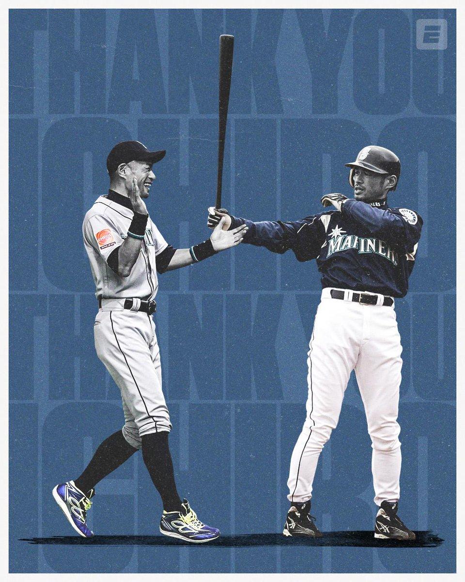 RT @espn: Thank you, Ichiro. Thank you. https://t.co/I4tX73ZjgK