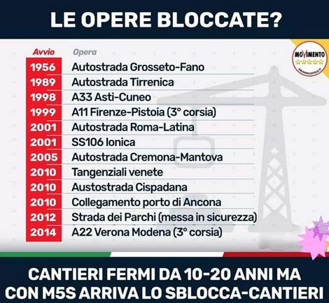 #sbloccacantieri