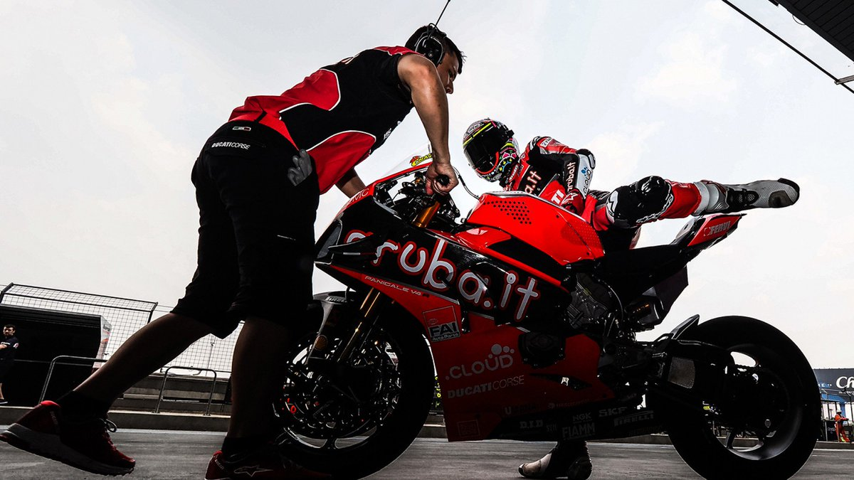 test Twitter Media - 🆕 @19Bautista and @chazdavies7 to test at MotorLand Aragon   Both of the @ArubaRacing riders will be part of the Ducati Test Team to get their eye in ahead of the opposition 👀  📄 | #WorldSBK https://t.co/OQ8zYKicK1 https://t.co/2azu2FrV4w