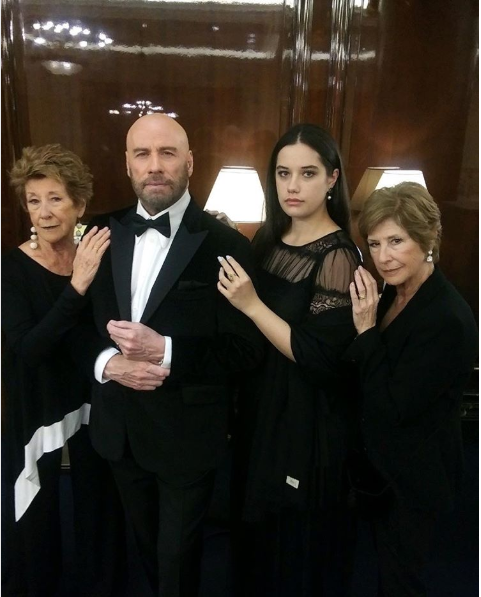John Travolta's daughter is all grown up!