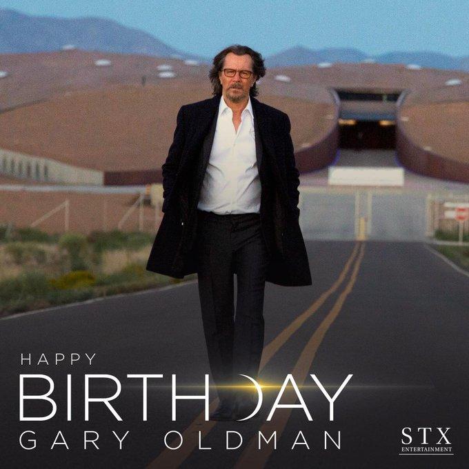 Happy birthday to the man who made life on Mars a reality, Gary Oldman!