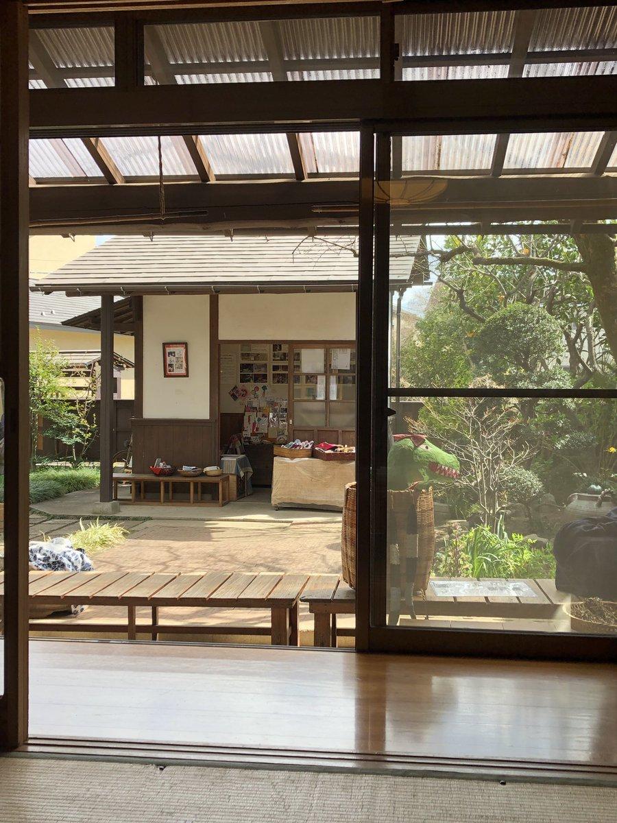 RT @Diethrough: すずさんのおうちの中庭、風情があります。昭和だなー。 #すずさんのおうち展 ...