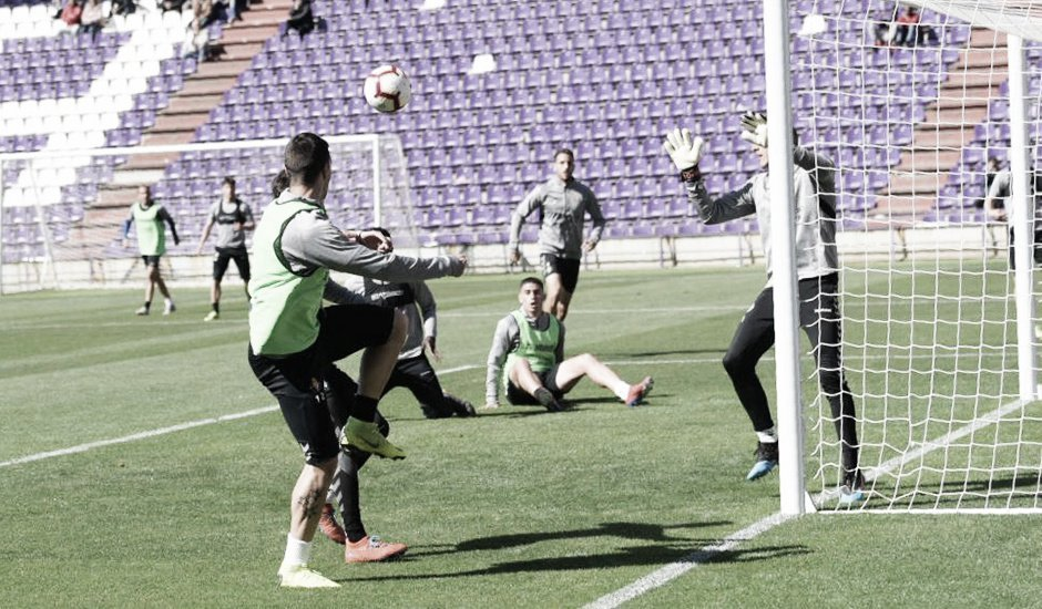 #ValladolidVAVEL Un entrenamiento diferente en Zorrilla https://t.co/GujlRfRm3A https://t.co/GXpaw2nNvm