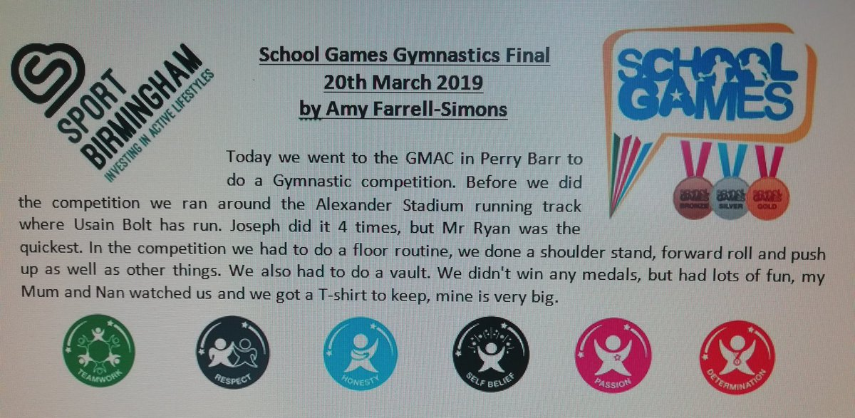 test Twitter Media - A @BhamSchoolGames report on the gymnastics from Amy. @KingsHeathSP https://t.co/5YLXYAtiN5