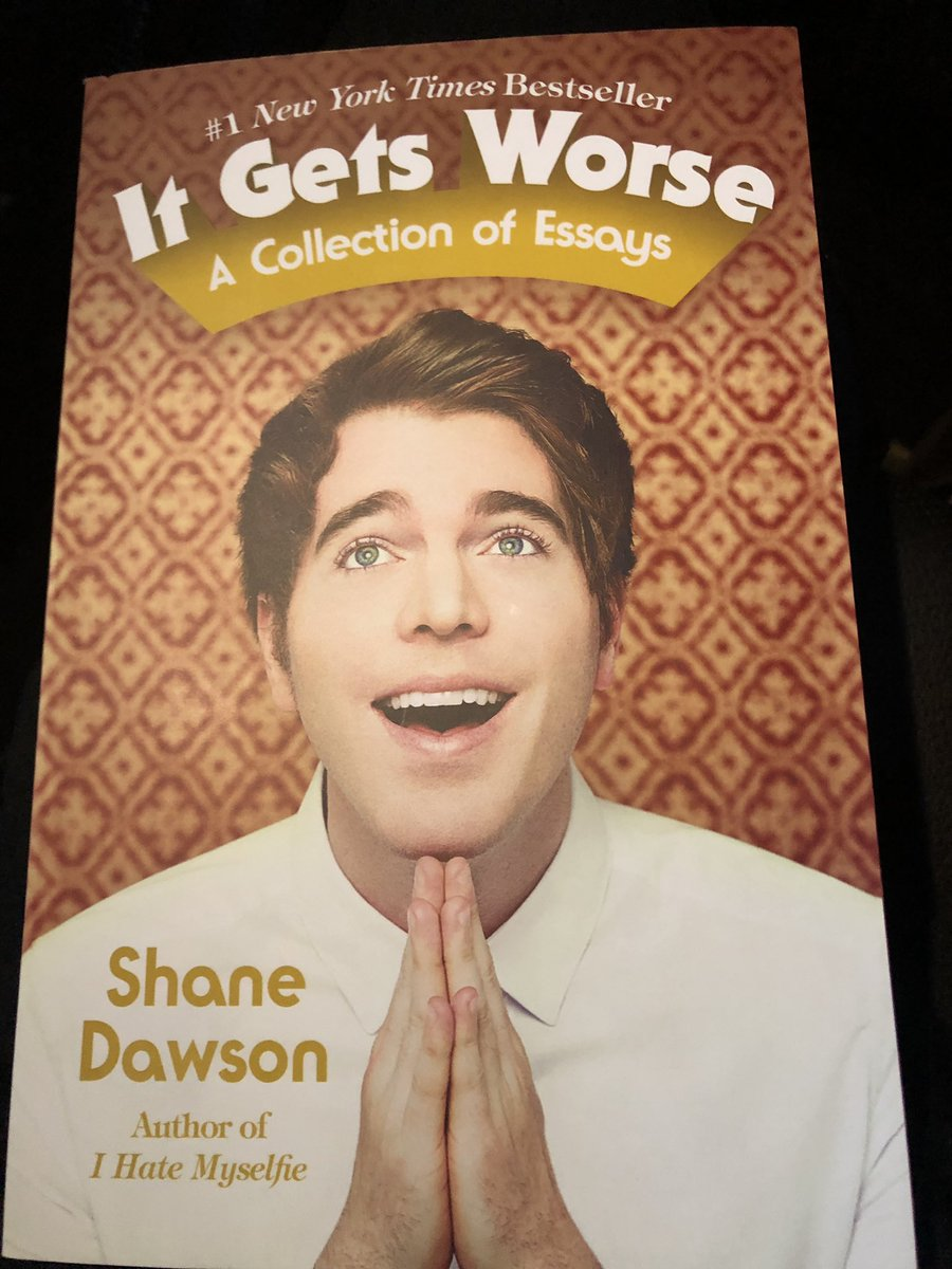 This is going to be a awesome book @shanedawson #itgetsworse https://t.co/tQyTTTFDNQ
