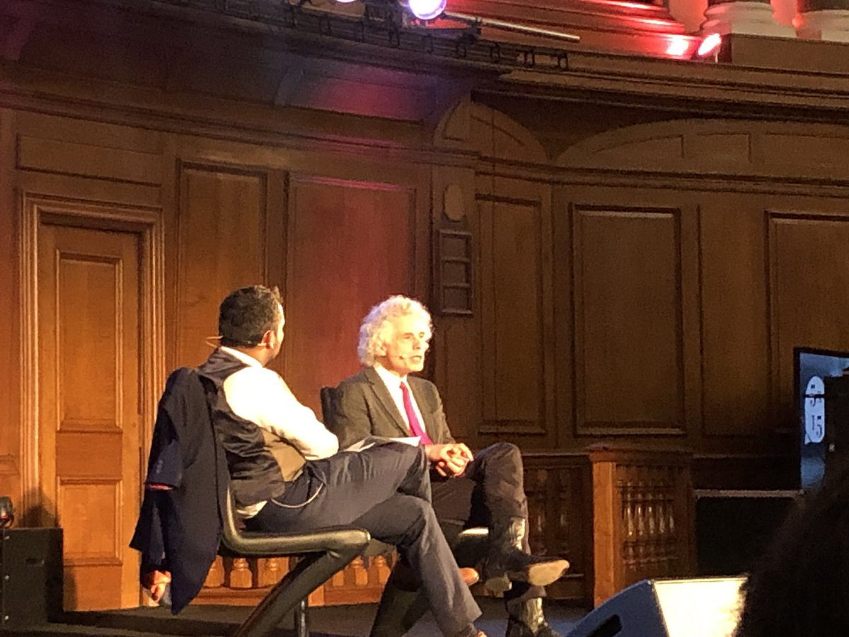 """test Twitter Media - """"Most poeple think extreme poverty has increased. In fact it has decreased on an unprecedented scale''  An incredible conversation in #Westminster with @amolrajan and @sapinker. Thank you @5x15stories for an amazing evening. https://t.co/hNiS5YFE9w"""
