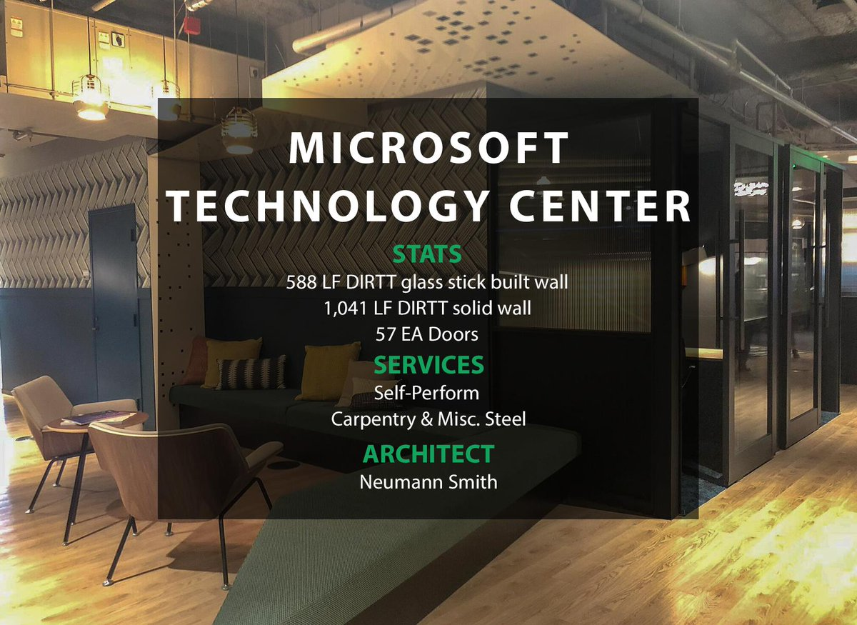 test Twitter Media - #ThrowbackThursday to working with American Interiors, Inc. on the installation of the DIRTT wall systems at the Microsoft Technology Center in Detroit. https://t.co/65i9LbeWno