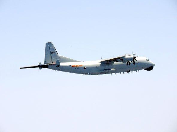 RT @wingnews: スクランブル機が初めて中国Y-9哨戒機を確認 https://t.co/F36At2YfvI https://t.co/LuoaJI9BFV