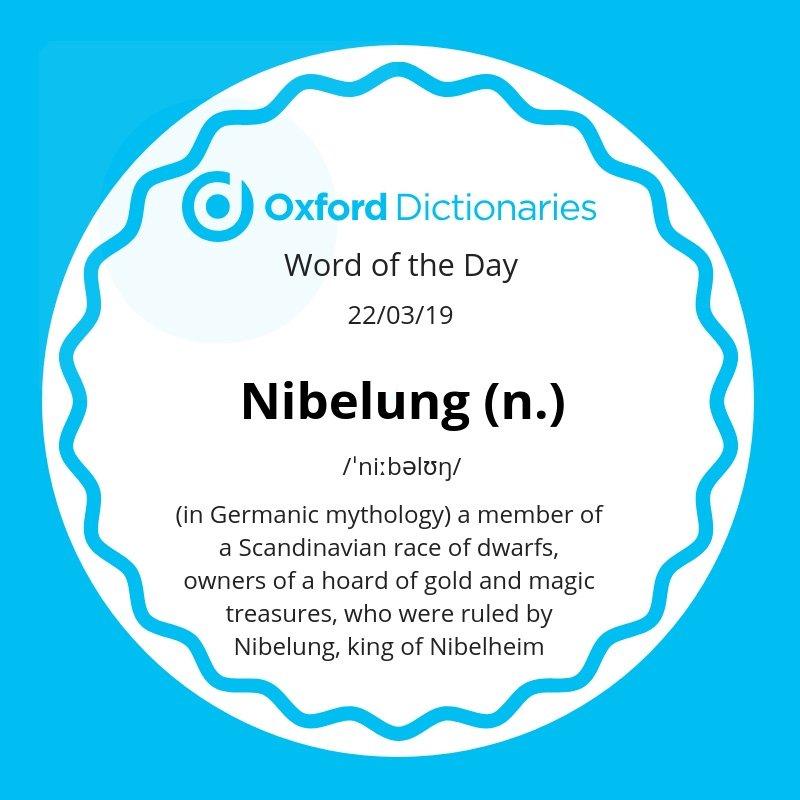 test Twitter Media - Word of the Day: Nibelung https://t.co/JJdayoeC1p https://t.co/gP0SVAWaz6