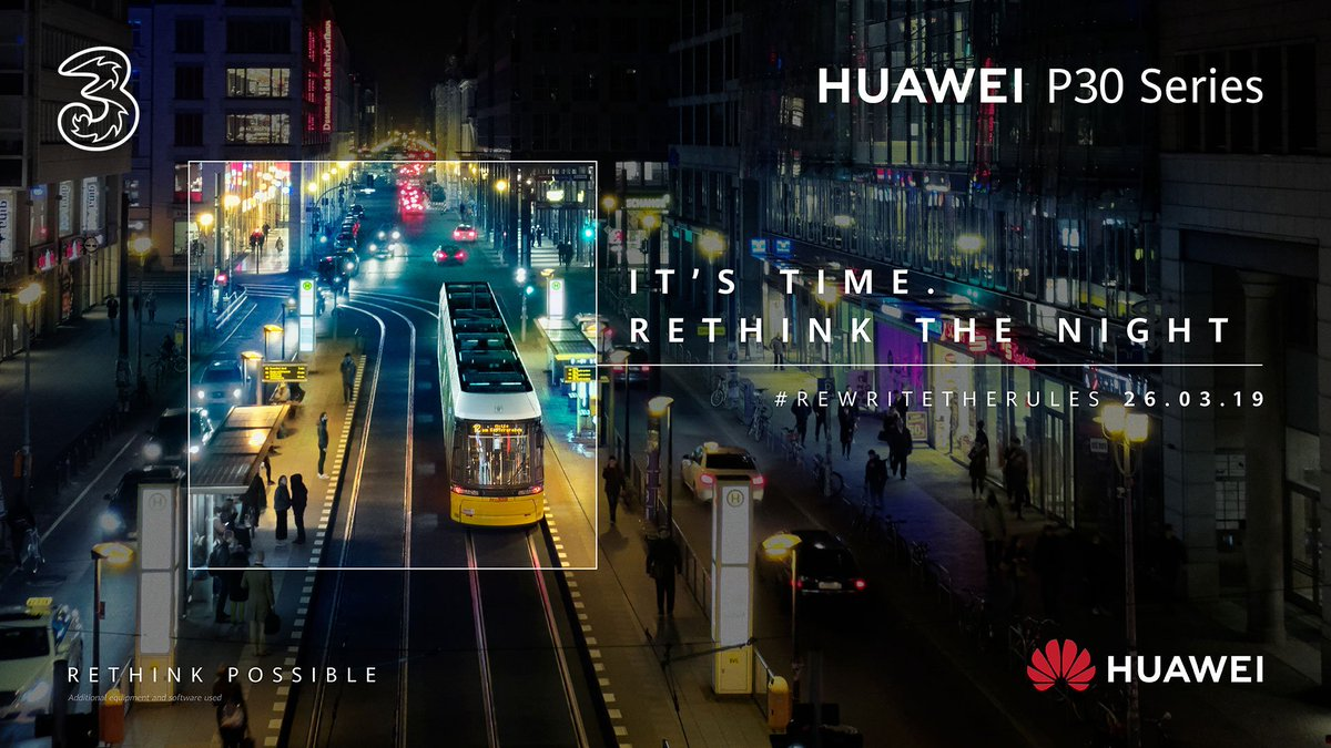 The Huawei P30 series is coming soon to Three! Register your interest now 👉 https://t.co/kuiilGl70Q https://t.co/MmwAIDFr7A