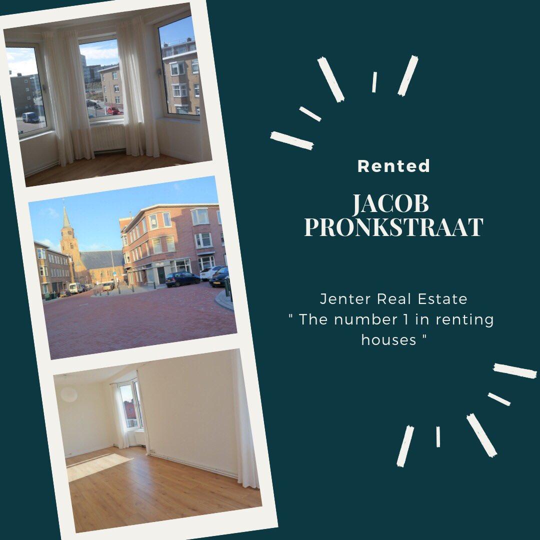 test Twitter Media - Succesvol verhuurd: appartement aan de Jacob Pronkstraat in Scheveningen!!    Wil jij ook een woning verhuren en wil je daarbij de hulp van professionals? De dames van Jenter Real Estate helpen je graag. https://t.co/nL6H215CRv