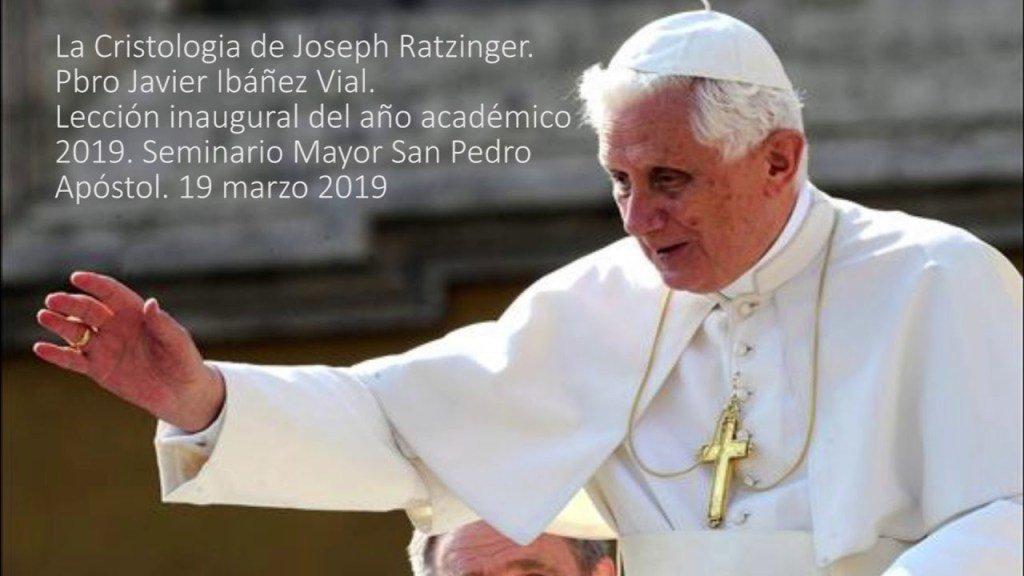 La Cristologia de Joseph Ratzinger – Pbro Javier IbáñezVial https://t.co/LZU2Hf3e64 https://t.co/vkPmGw5ANR