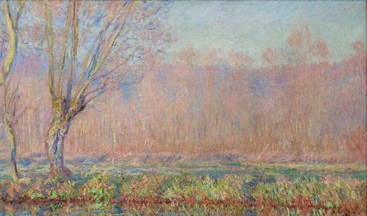 RT @artistmonet: The Willows, 1885 #claudemonet #impressionism https://t.co/UlRwrbLI79