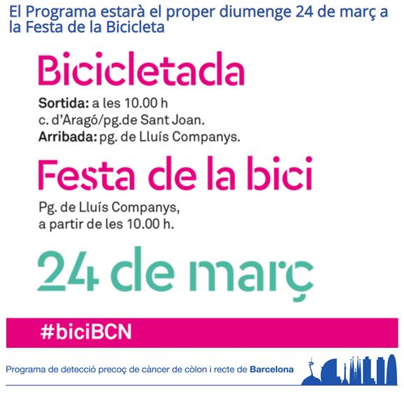test Twitter Media - Tot a punt per a la Festa de la Bicicleta 🚲,on @farmaceuticsbcn, a través del Programa de Detecció de Càncer de Còlon i Recte de Barcelona, hi serem per sumar quilòmetres 🚴♂️🚴♀️per a la prevenció. 📅24 de març - 10 h. Veniu😊? ℹ️https://t.co/M026w1TR6M  #sumemxlaprevencio #bicibcn https://t.co/IeexIdM3XM