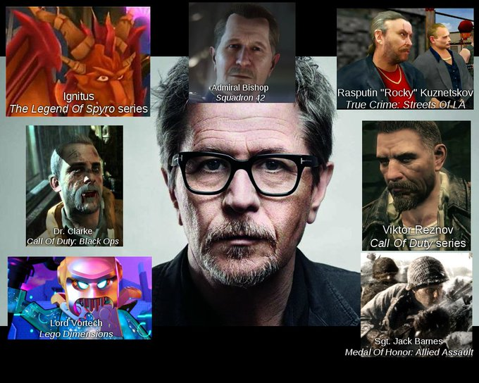 Happy 61st Birthday Gary Oldman! Thank you for your contributions to gaming!