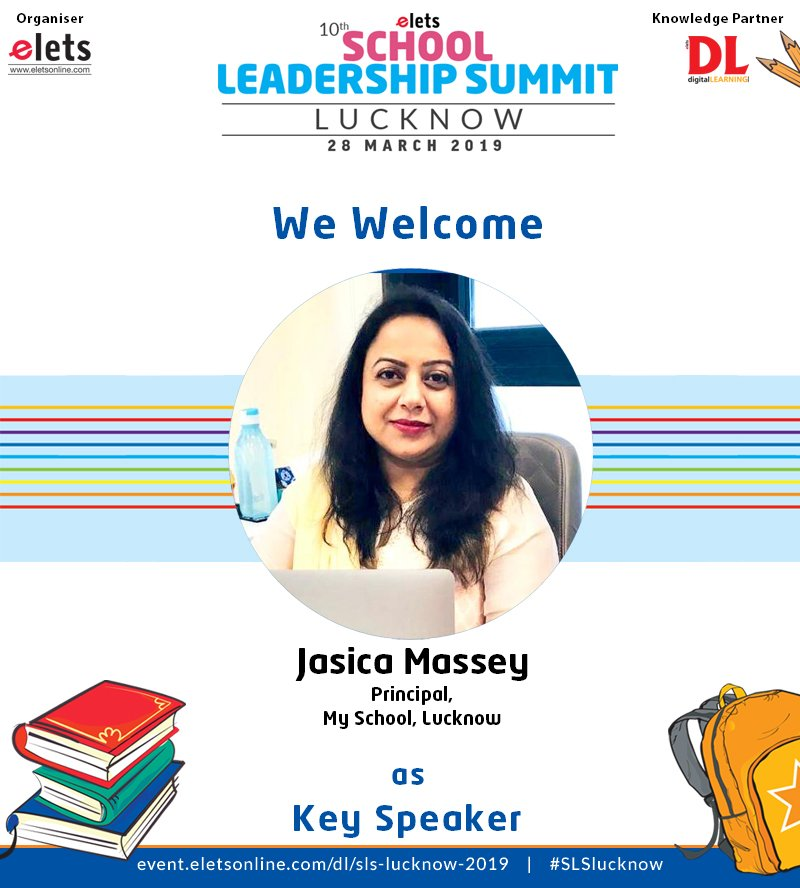 test Twitter Media - We are proud to announce that jasica massey, Principal, My School  Lucknow is participating as a Key Speaker in 10th School Leadership  Summit Lucknow on 28 March.  #education #Schooleducation #SLSlucknow @ravigupta1000 @chandananand26 https://t.co/cu5RzCB4cF