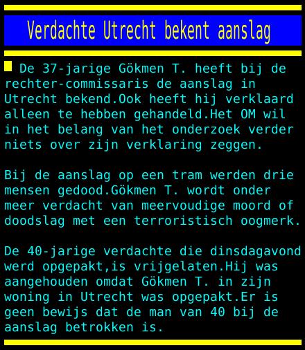 test Twitter Media - Verdachte Utrecht bekent aanslag https://t.co/Vlrwa6KLve