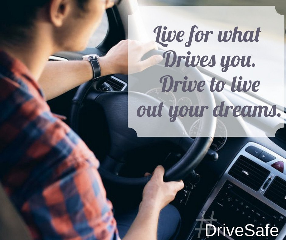 Live for what drives you. Drive to live out your dreams.  #DriveSafe #FridayFeeling #FridayMotivation https://t.co/fI58QilerO